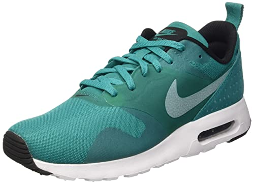 ed9607f1be Nike AIR Max Tavas 705149-303 Men White Black Shoes 9: Buy Online at Low  Prices in India - Amazon.in