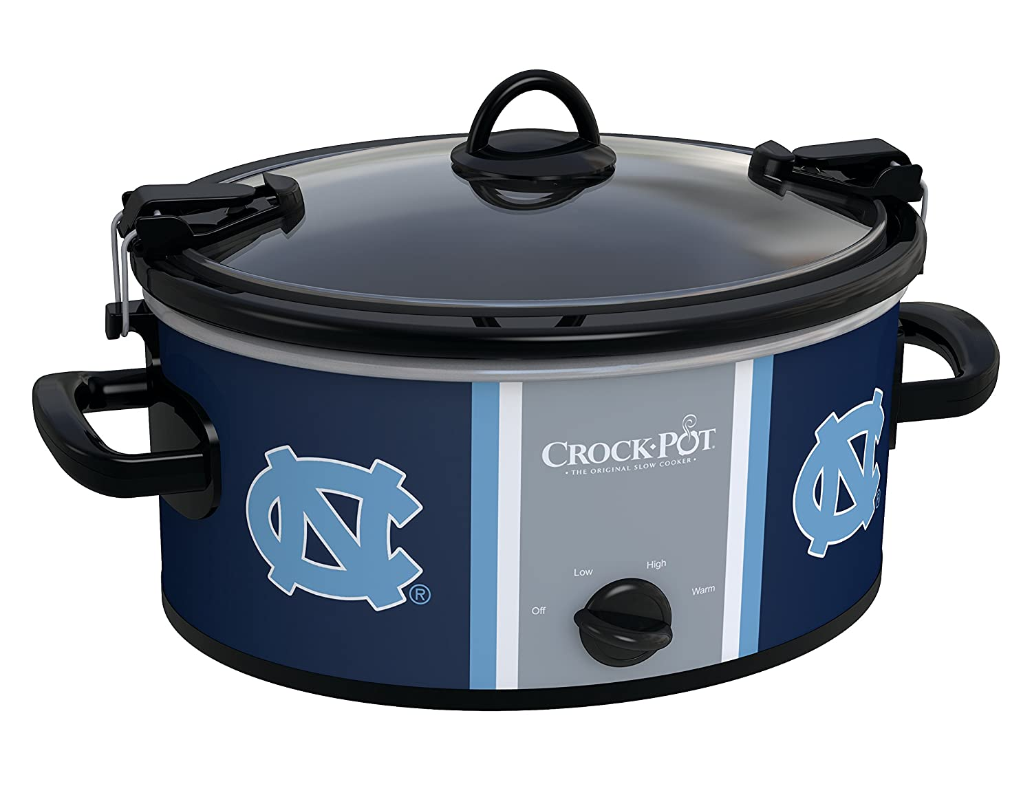 Crock-pot SCCPNCAA600-UNC University of North Carolina Slow Cookers, White