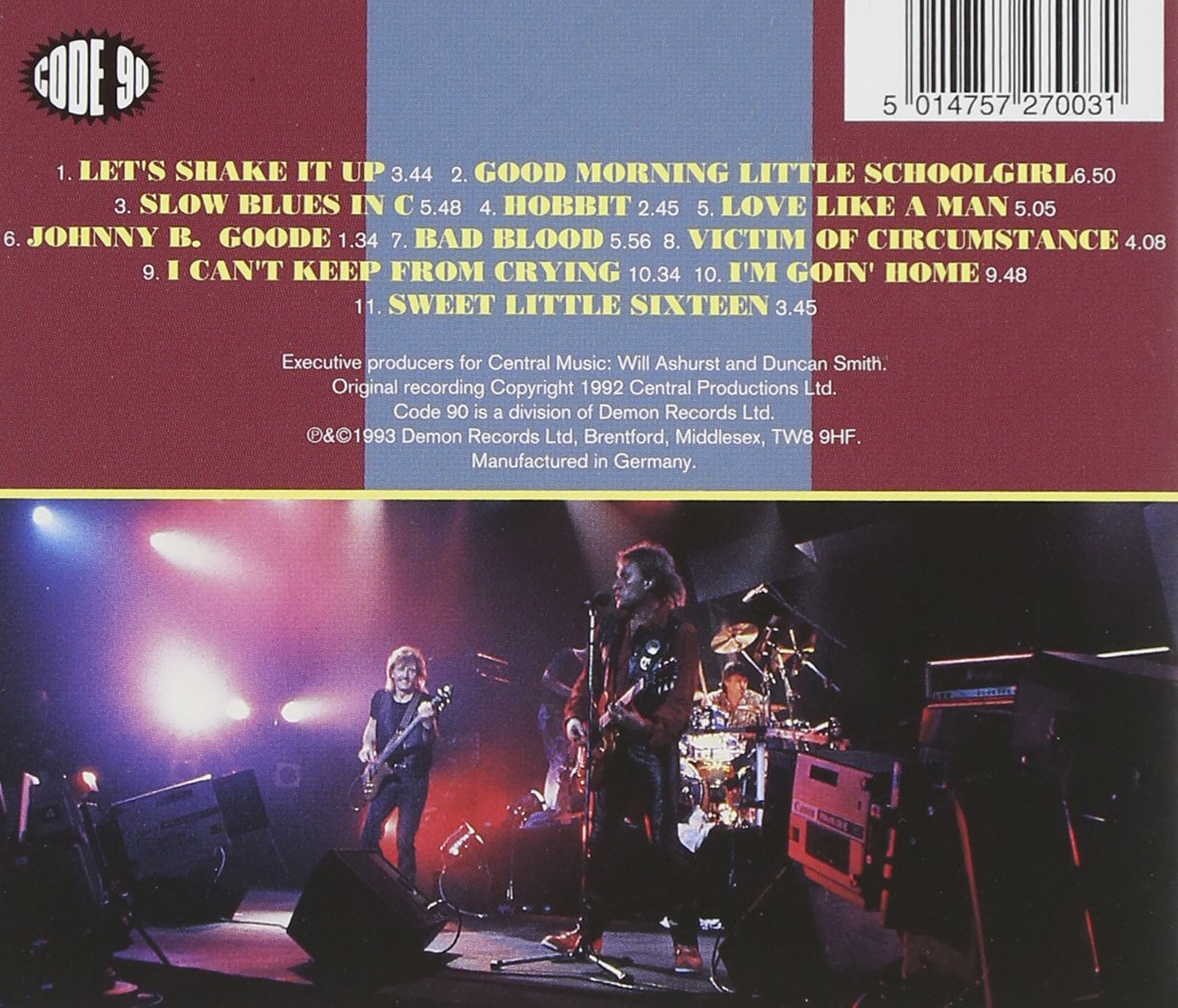 Live - Ten Years After