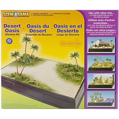 Woodland Scenics SP4112 Scene-A-Rama Desert Oasis Diorama Kit, Multicolor: Home & Kitchen [5Bkhe1106602]