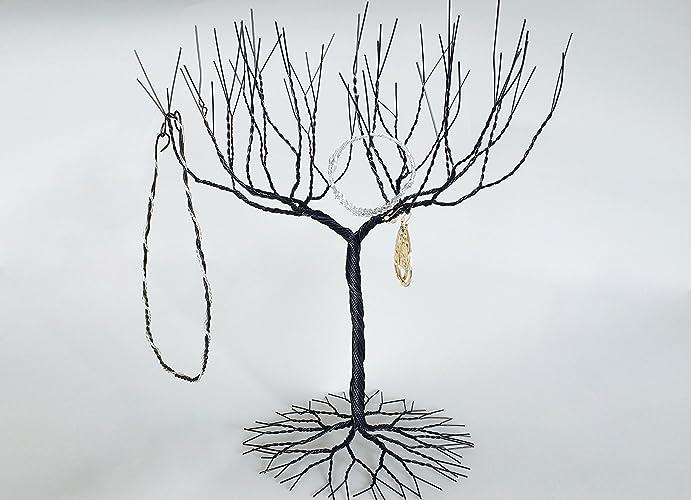 Amazon Med Large Black Jewellery Tree Jewelry Display Best Large Jewelry Tree Display Stand