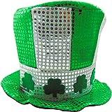 Saint Patrick's Day Top Hat with Shamrocks