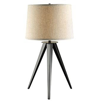 A Line Furniture Mid Century Modern Tripod Design Table Lamp