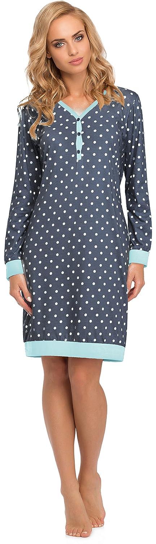 TALLA L. Cornette Camisón Vestido de Casa Mujer 654 2015