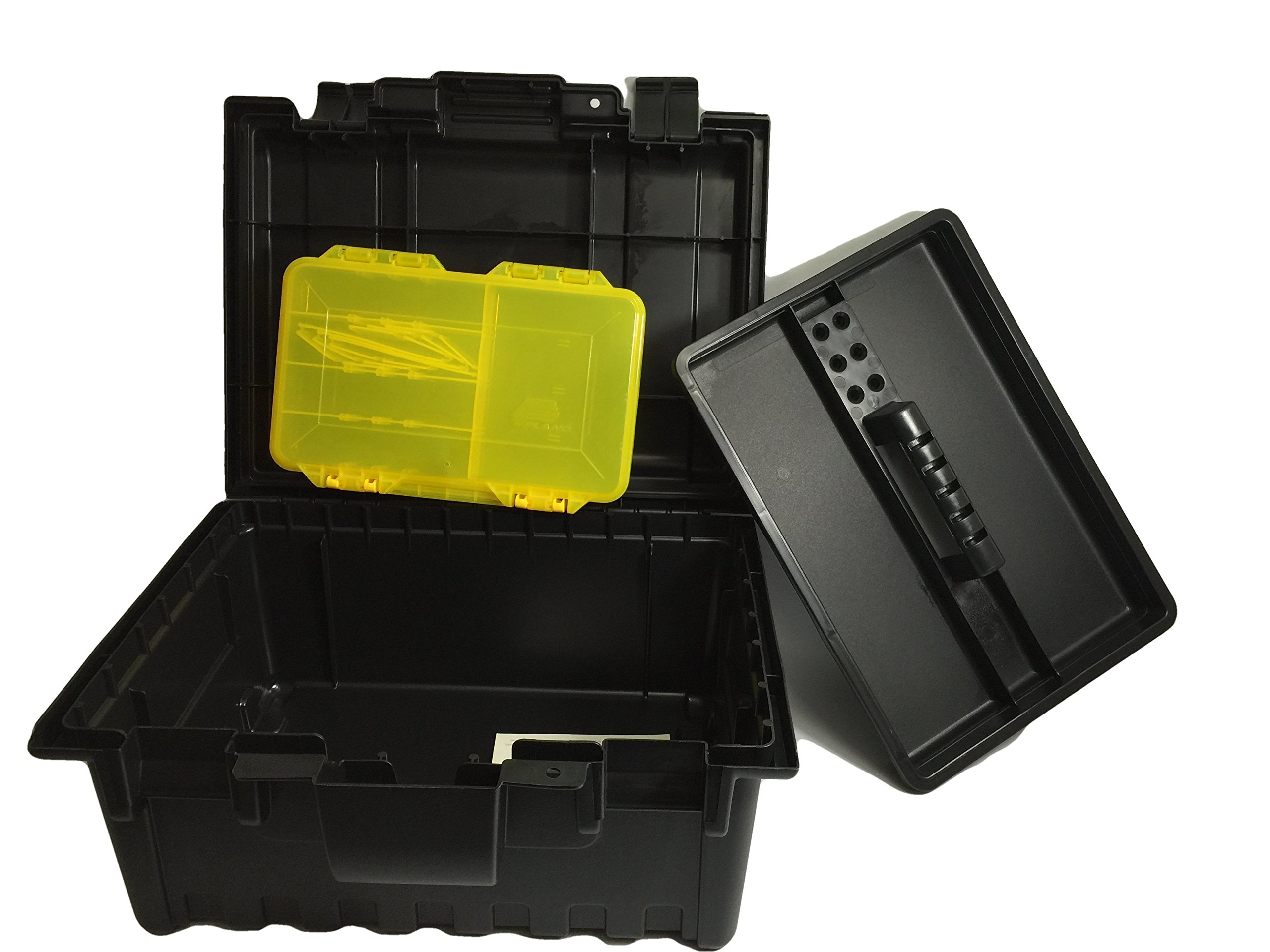Plano 16 inch Power Tool Box with Tray and Caddy