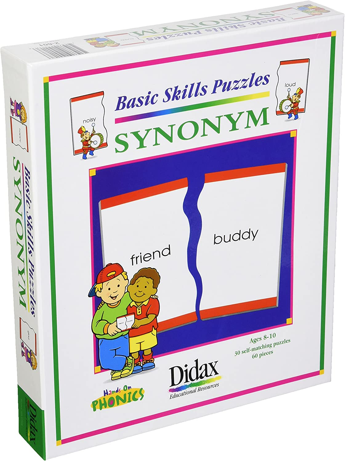 Amazon Com Didax Educational Resources Synonym Matching Puzzle