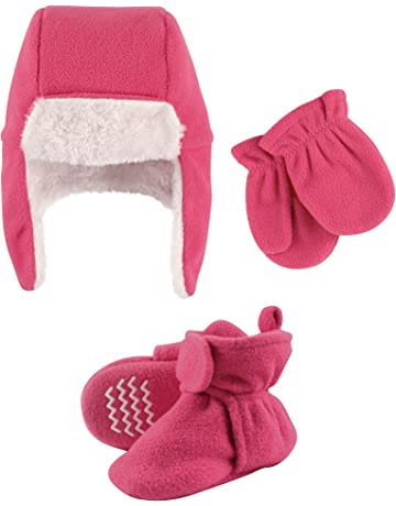 7517b183965 Gerber Baby-girls Newborn 3 Pack Textured Knit Caps. Most wished for.  Hudson Baby Winter Hat