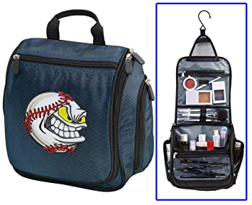 Amazon.com   Baseball Fan Toiletry Bag Or Hanging Mens Baseball Shaving Kit    Beauty 5687cc2b8