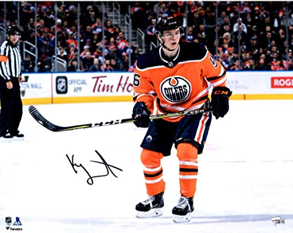 b1220cd56 Kailer Yamamoto Edmonton Oilers Autographed 16