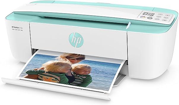 HP Deskjet 3730 AiO - Impresora multifunción (Wi-Fi, USB 2.0, 600 ...