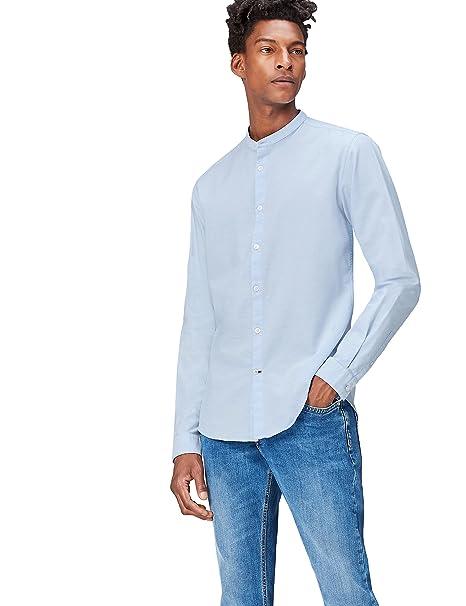 f1622f9824f2c FIND Camisa Cuello Mao para Hombre