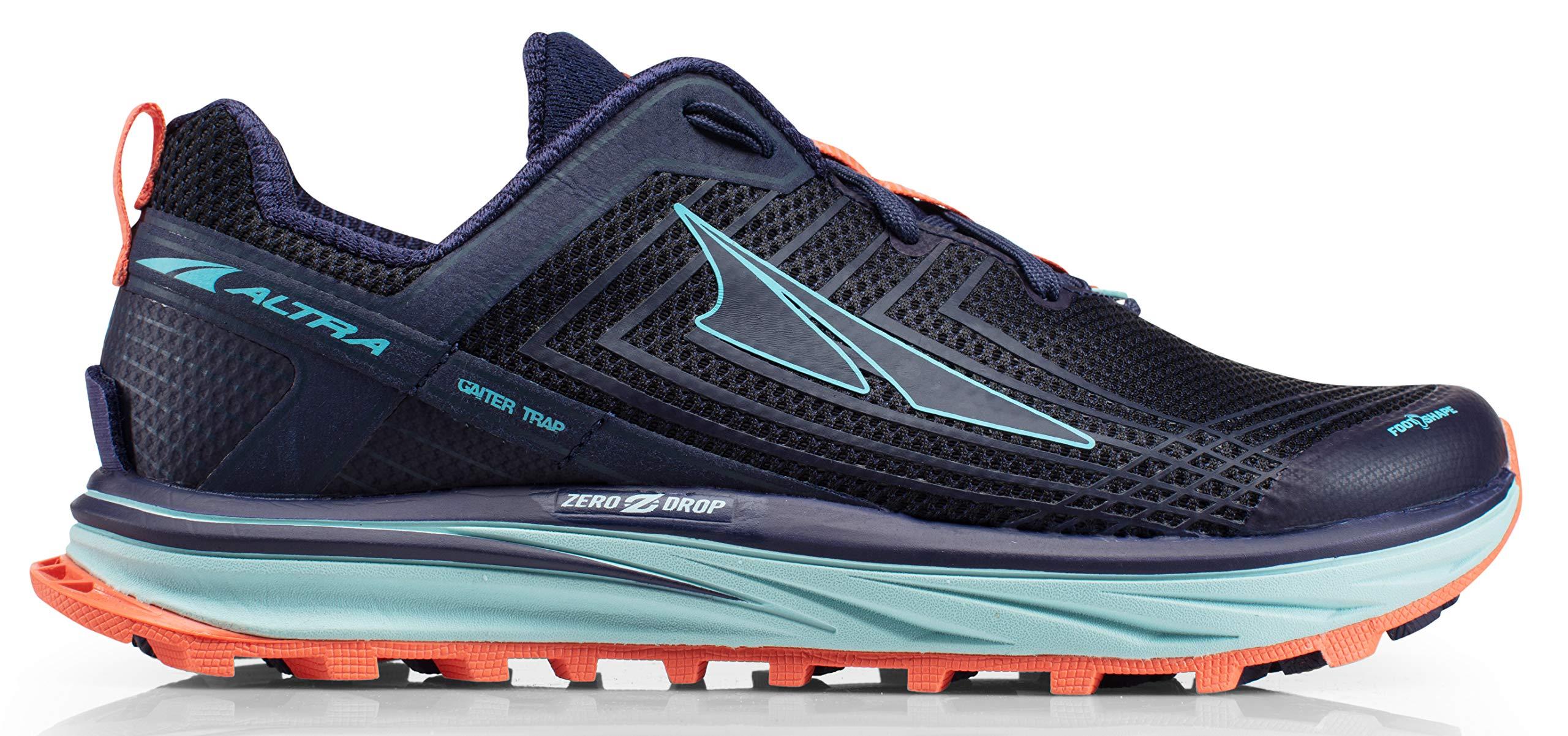 Altra AFW1957F Women's TIMP 1.5 Trail Running Shoe, Dark Blue - 6 B(M) US