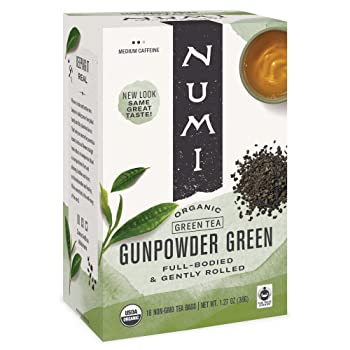 Numi Organic Tea Gunpowder Green Tea