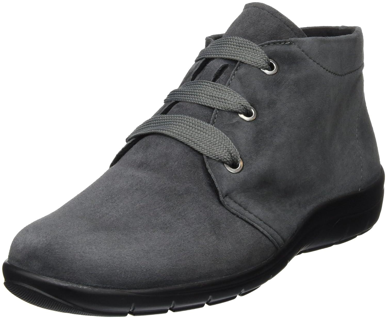 Grau (004 Grau) Semler Damen Michelle Kurzschaft Stiefel