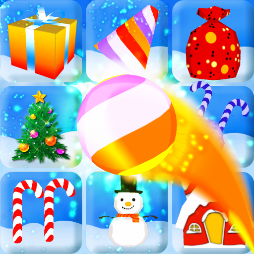 Carnival Bass Tossing Game : Throw Balls to Knockdown Snowballs & More