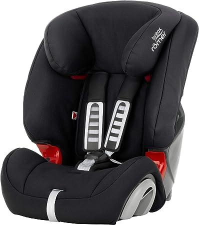 Oferta amazon: Britax Römer Silla de coche 9 meses - 12 años, 9 - 36 kg, EVOLVA 1-2-3 Grupo 1/2/3, Cosmos Black