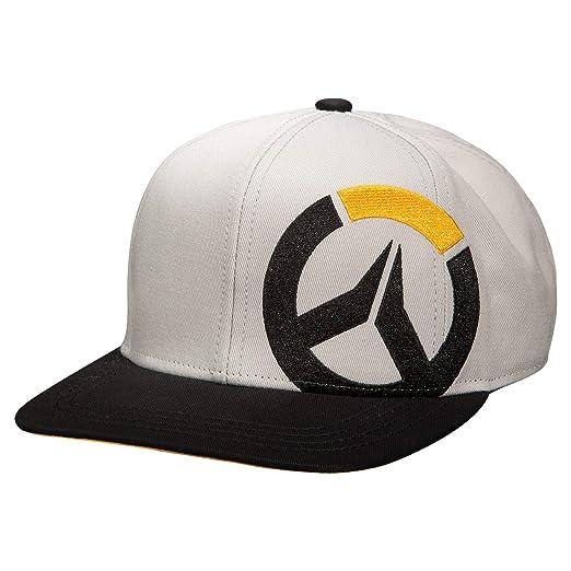 Amazon.com  JINX Overwatch Melee Snapback Baseball Hat (Black Grey ... bb05f1b0dc26