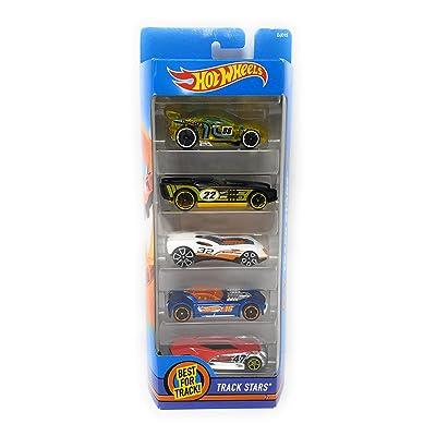 Hot Wheels, 2016 Track Stars 5-Pack: Toys & Games [5Bkhe0206456]