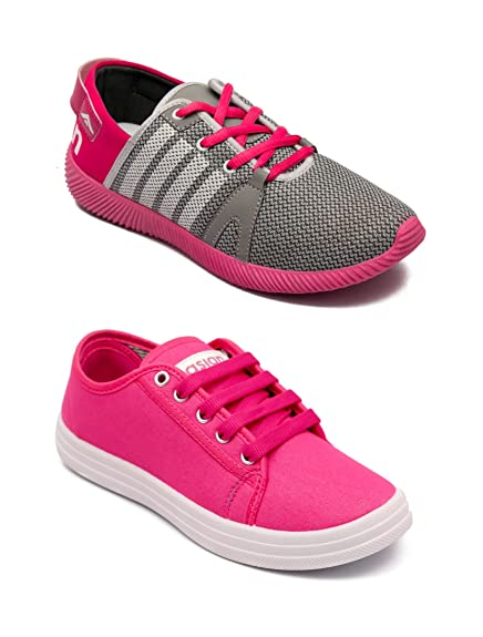 26fedcddd2 Asian Women s Casual Shoes Combo Pack of 2-0401-W178  Buy Online at ...
