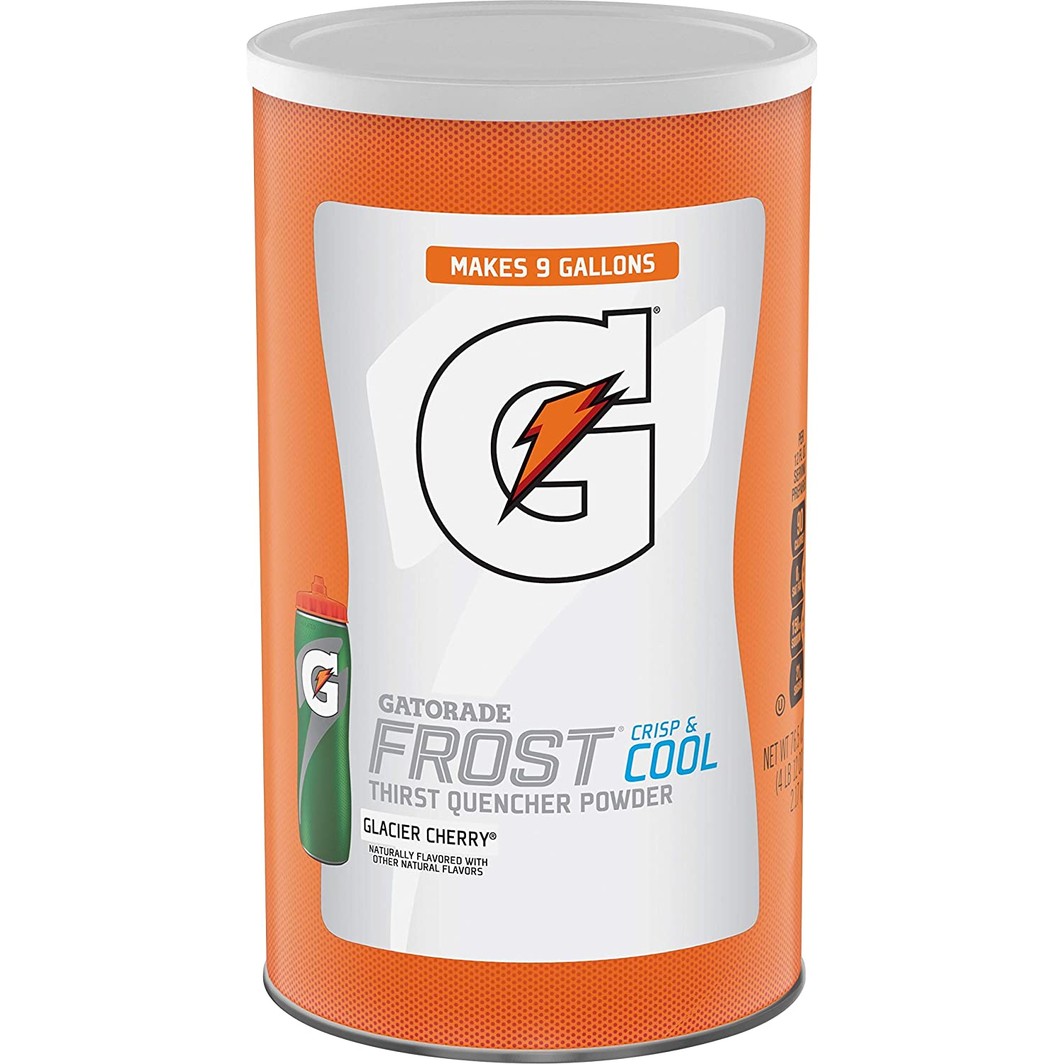 Gatorade Thirst Quencher Powder, Glacier Cherry, 76.5 oz Canister