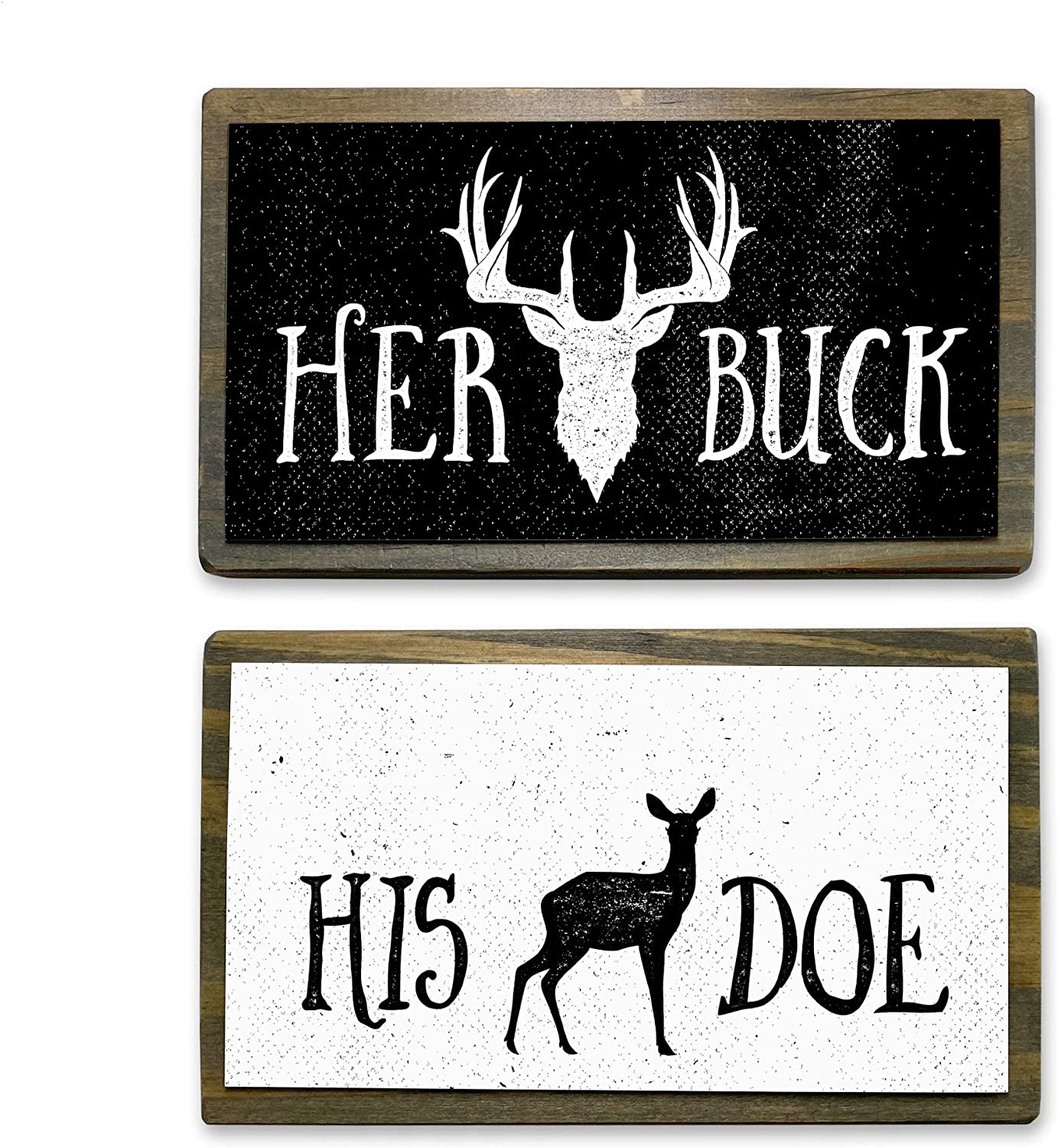 ANVEVO Her Buck, His Doe - Two 6