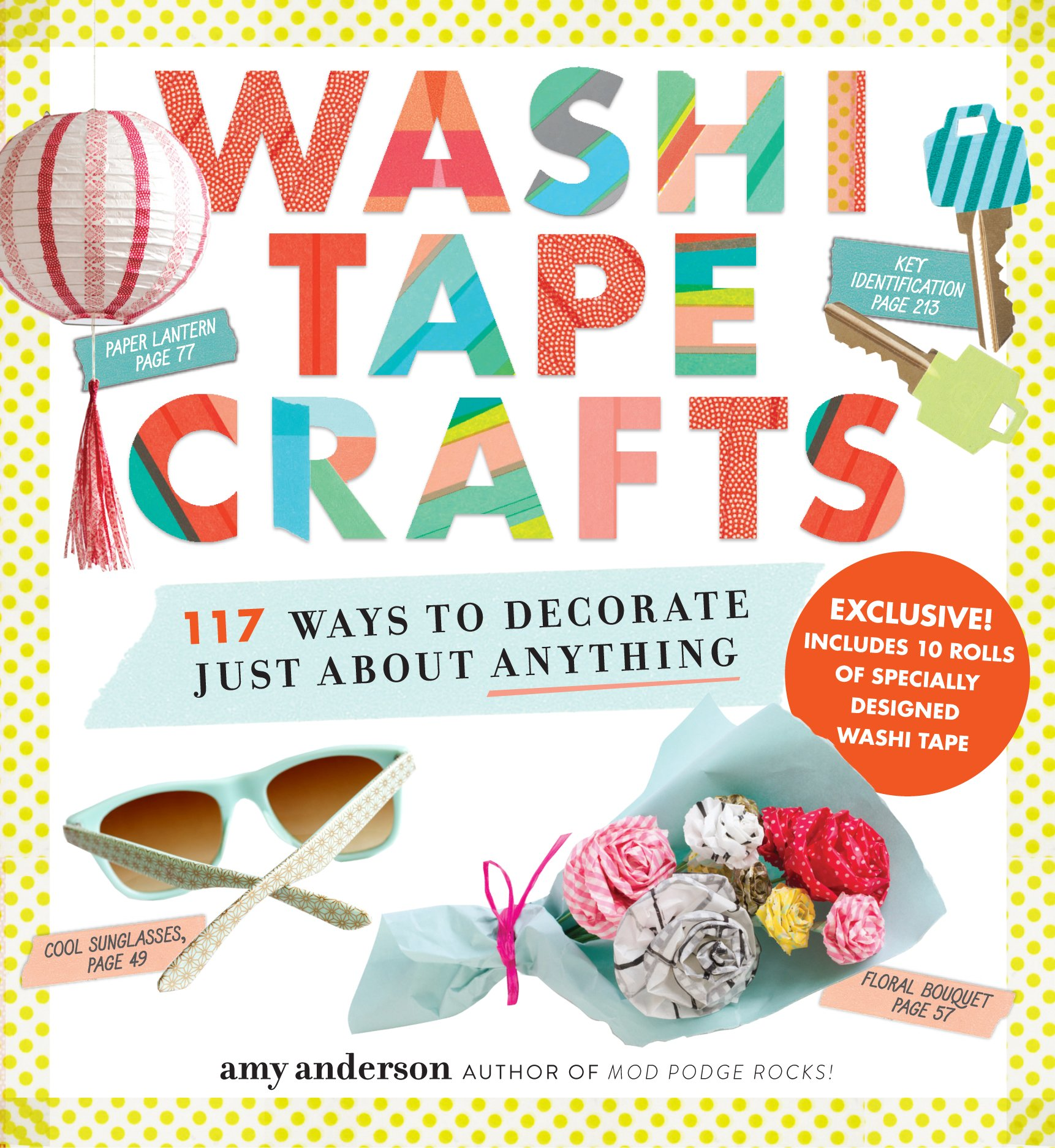 Amazon Com Washi Tape Crafts 110 Ways To Decorate Just About