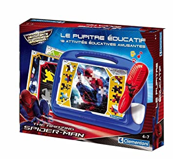 clementoni 623402 jeu educatif et scientifique spiderman 4 le pupitre ducatif
