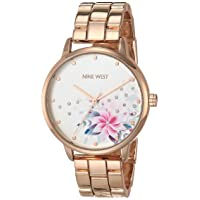 Women's Crystal Accented Bracelet Watch