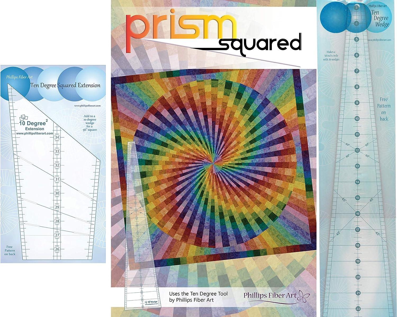 Phillips Fiber Art Ten Degree Squared Extension