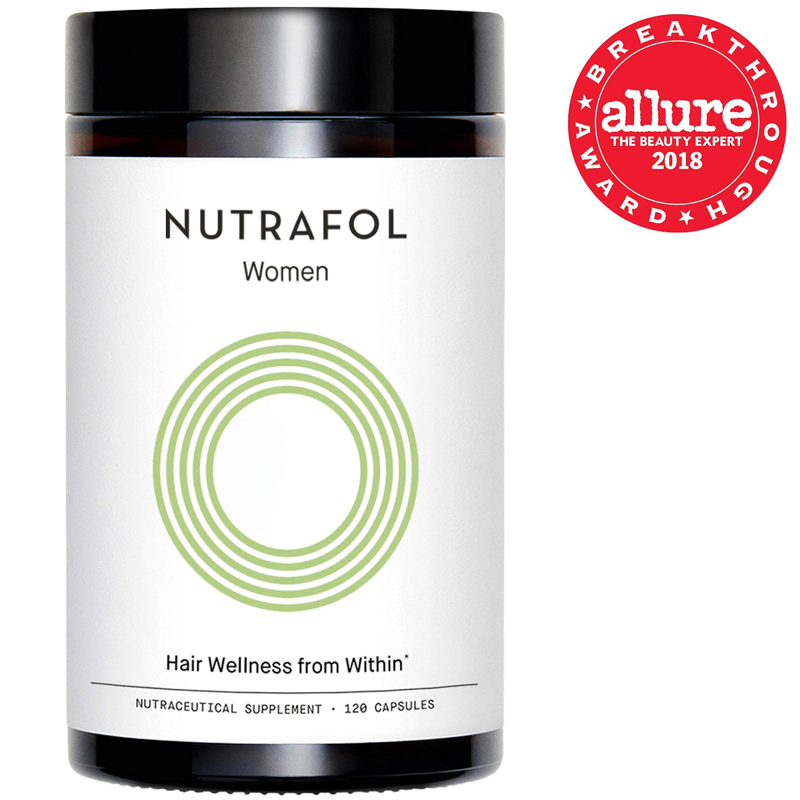Nutrafol Hair Loss Thinning Supplement - Women Hair Vitamin for Thicker Healthier Hair, 120 Capsules by Nutrafol