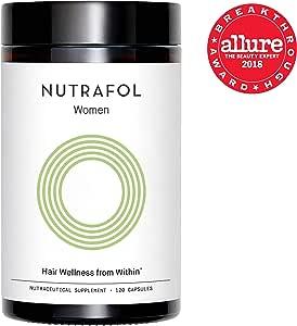 Nutrafol Hair Loss Thinning Supplement – Women Hair Vitamin for Thicker Healthier Hair