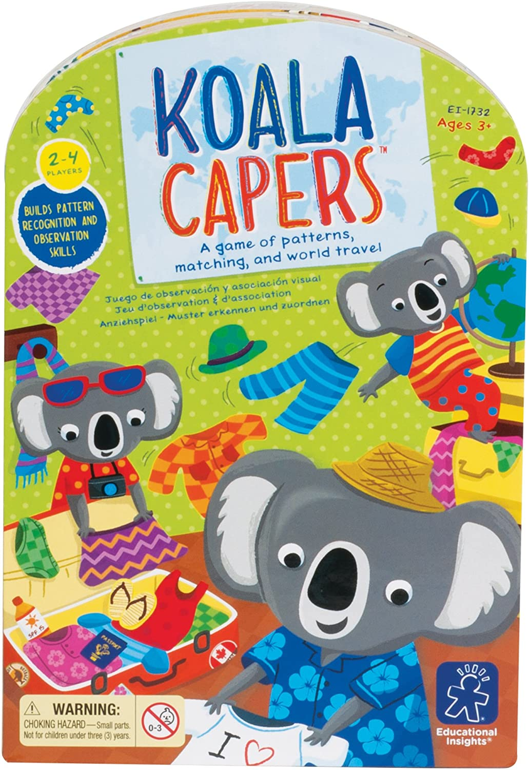 Educational Insights Koala Capers Card Game