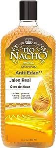 Tío Nacho Shampoo JALEA NUEZ Jalea Real + Óleo de Nuez Antiedad 415 ml