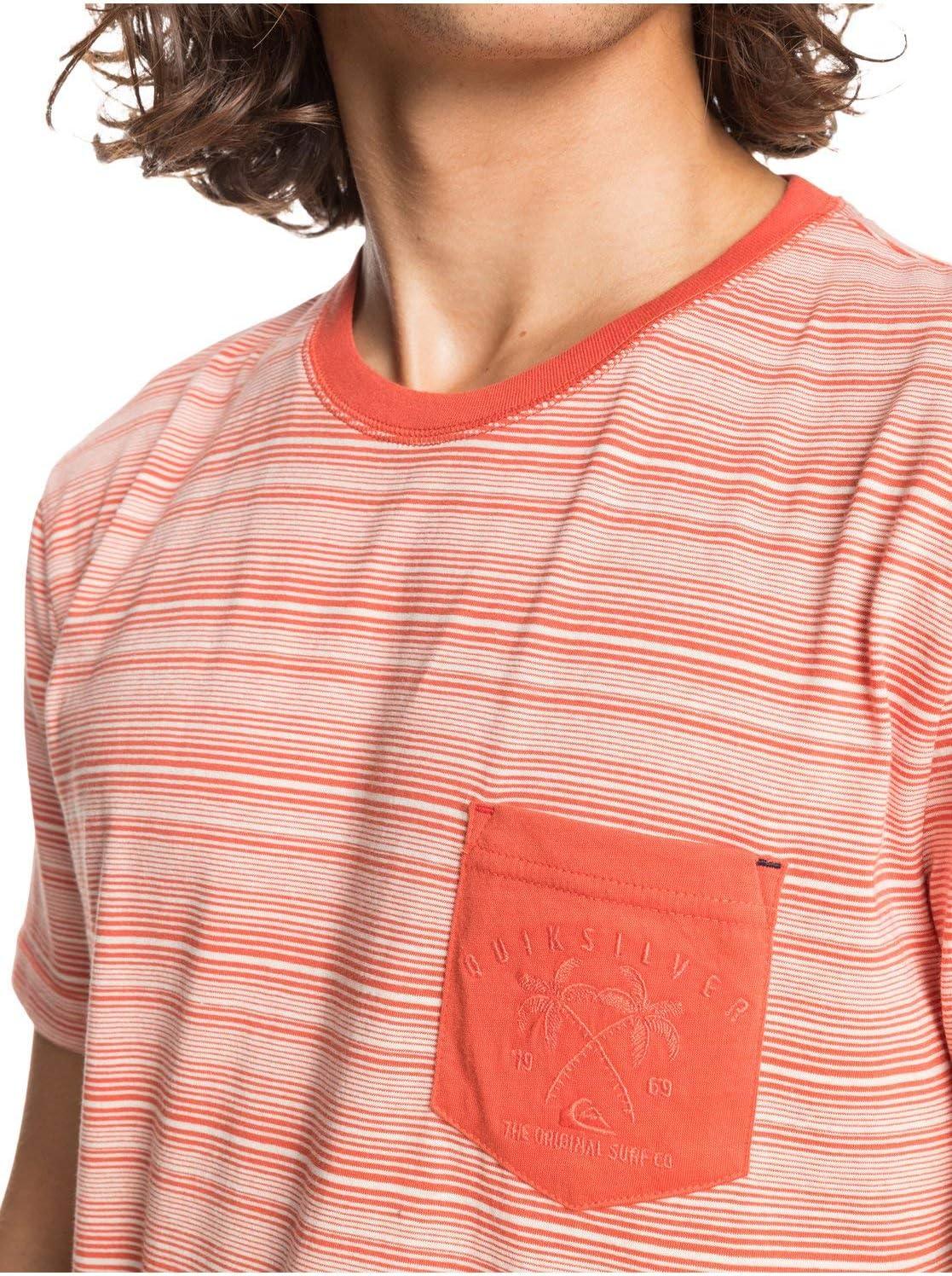 Quiksilver Pavillon Surf Camiseta para Hombre