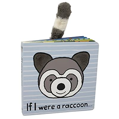 Jellycat Board Books, If I were a Raccoon: Toys & Games