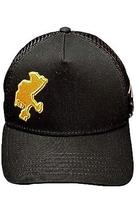 3595e5dde Casa Zacatecas by Red Monkey RM103 Black/Gold Fashion Trucker Hat ...