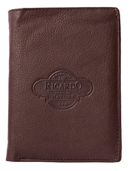 87bf6fe0834e Ricardo Men's Quality Leather Wallet One Size Brown at Amazon Men's ...