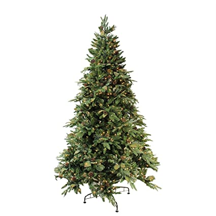 bethlehem lighting gki pre lit green river spruce medium artificial christmas tree with clear lights