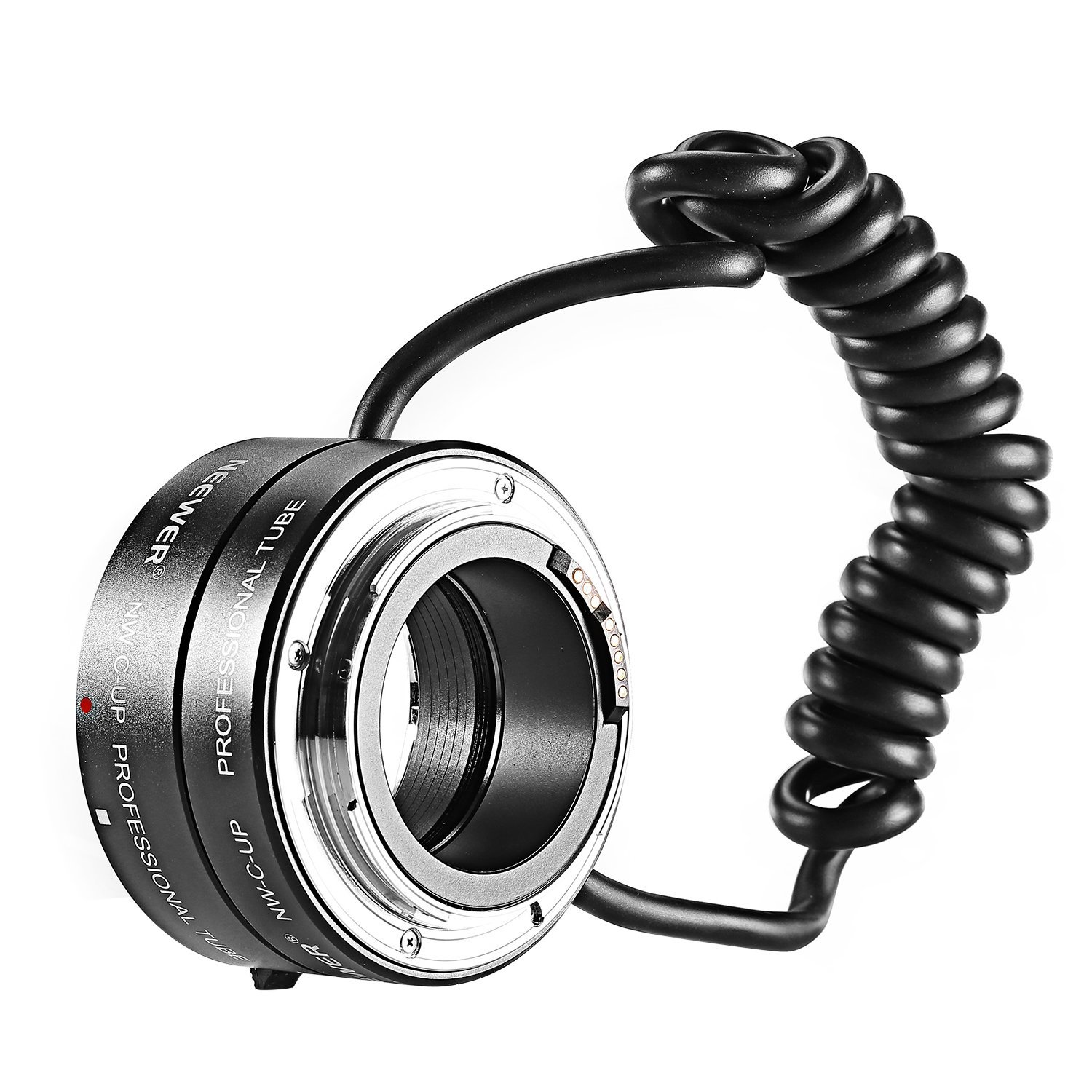 Neewer® Multifunctional Electronic Automatic AF Auto Focus Macro & Reverse Mount On Lens Extension Tube with 58mm 67mm 72mm 77mm Adapter Rings for Canon EF/EF-S Mount Lenses, Fits Canon EOS 5D Mark 3 III 5D Mark 2 II 1Ds Mark IV III II I 1D Mark III II