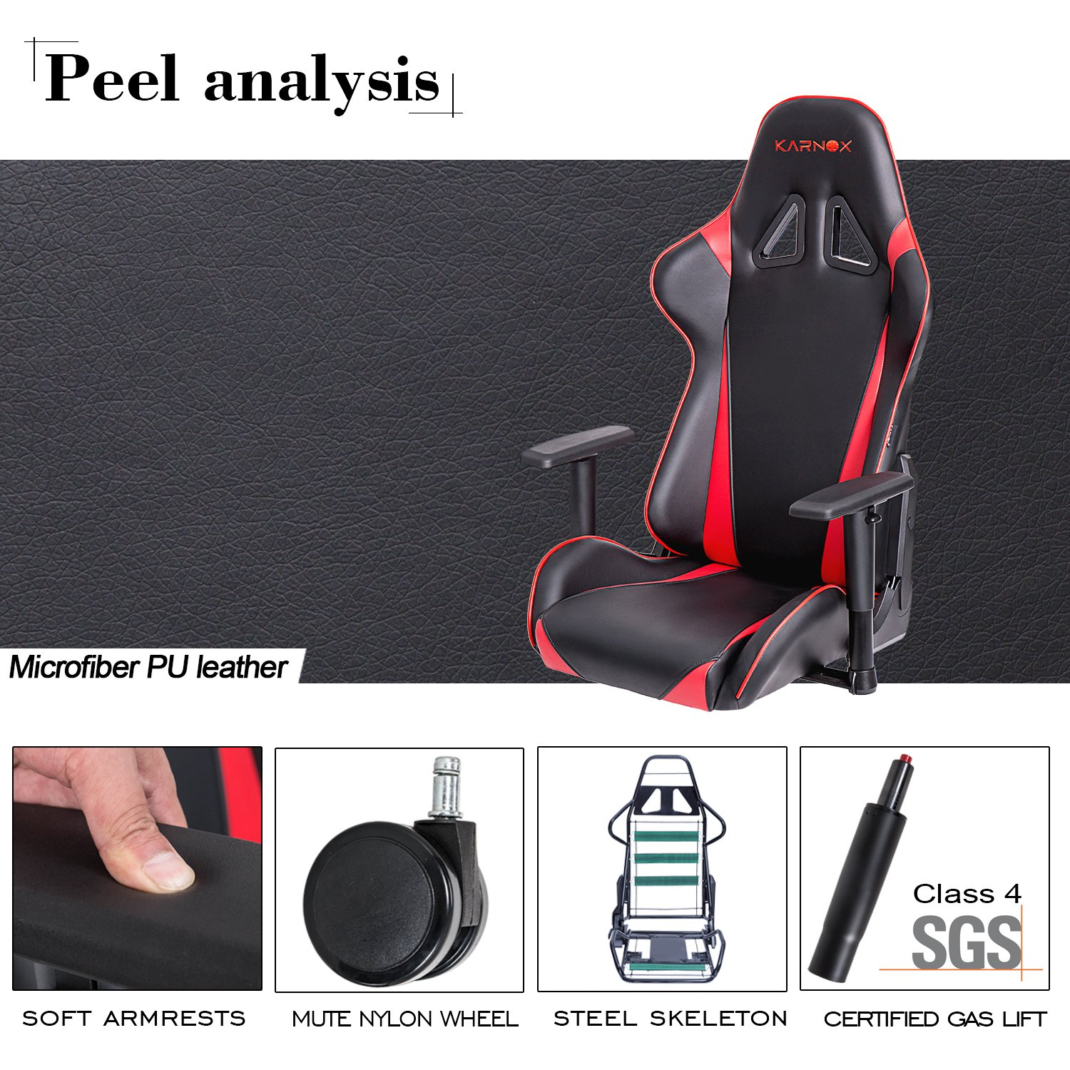 Strange Karnox Hero X Red Black Racing Style Gaming Office Chair With Adjustable Height And Armrests Ergonomic 1700 Reclining Locking High Back With Gmtry Best Dining Table And Chair Ideas Images Gmtryco
