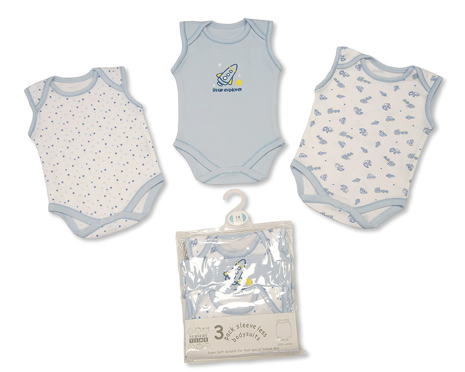 Girls' Clothing (newborn-5t) 100% Quality Baby Girls Short Sleeve Vests 0-3 Months X 4 We Take Customers As Our Gods