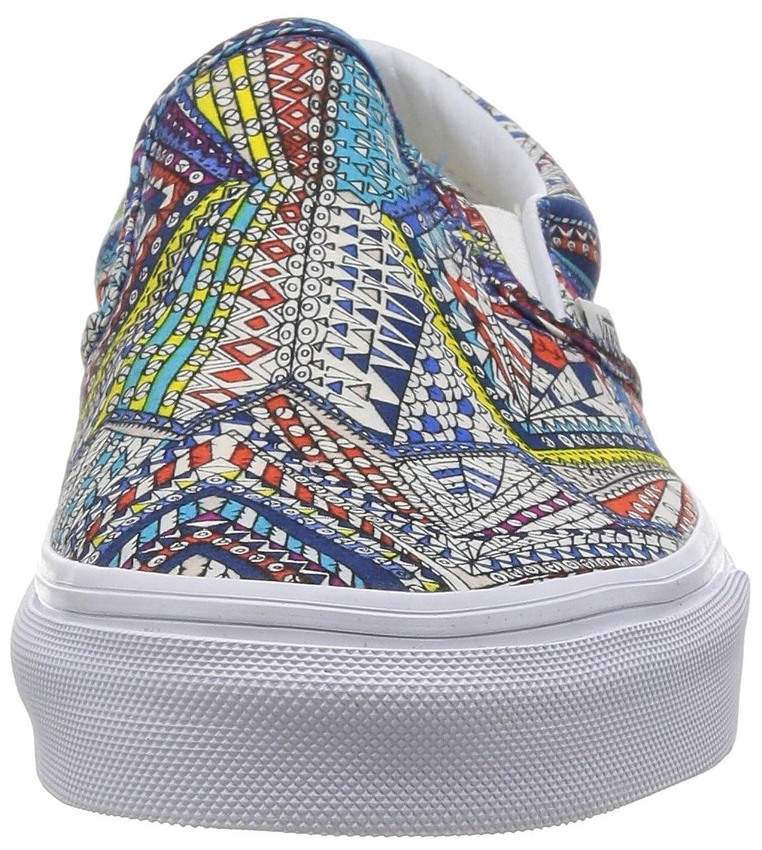 Furgonetas Abstracto Clásico Zapatos Sin Cordones Para Mujer FR34l44