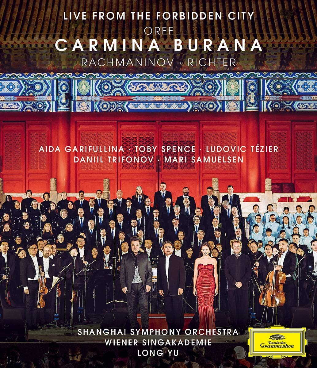 Blu-ray : VARIOUS - Orff: Carmina (live From The Forbidden City) (Blu-ray)