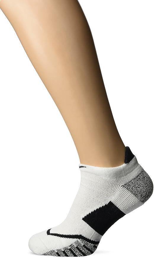 1be556ea86eca Amazon.com : Nike NIKEGRIP Elite No Show Tennis Socks White/White ...