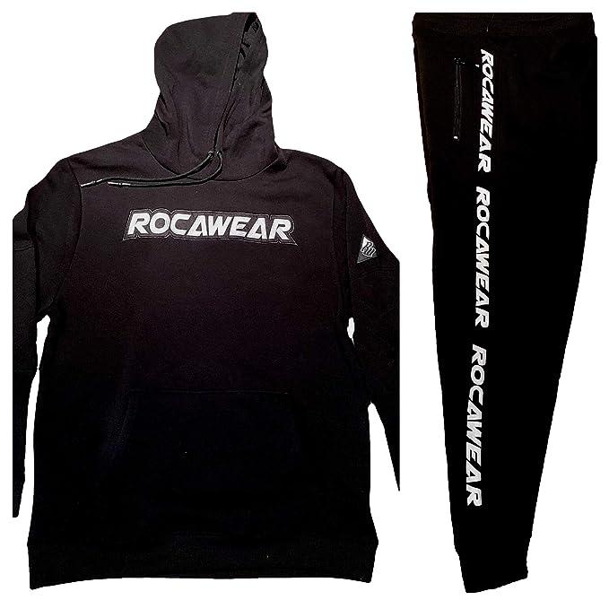 Rocawear - Chándal para Hombre, diseño de Hip Hop, Color Negro ...