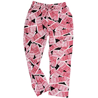 Bacon Lounge Pants - Fry Up Your Breakfast In Style w/Pockets: Clothing