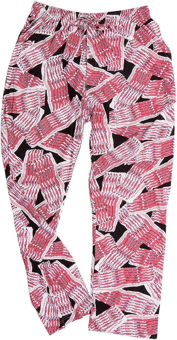 David Carey Unisex Adult Bacon Lounge Pajama Pants