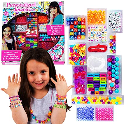 Amazon Com Gifts For Little Girls Bead Sets For Kids Abc Beads