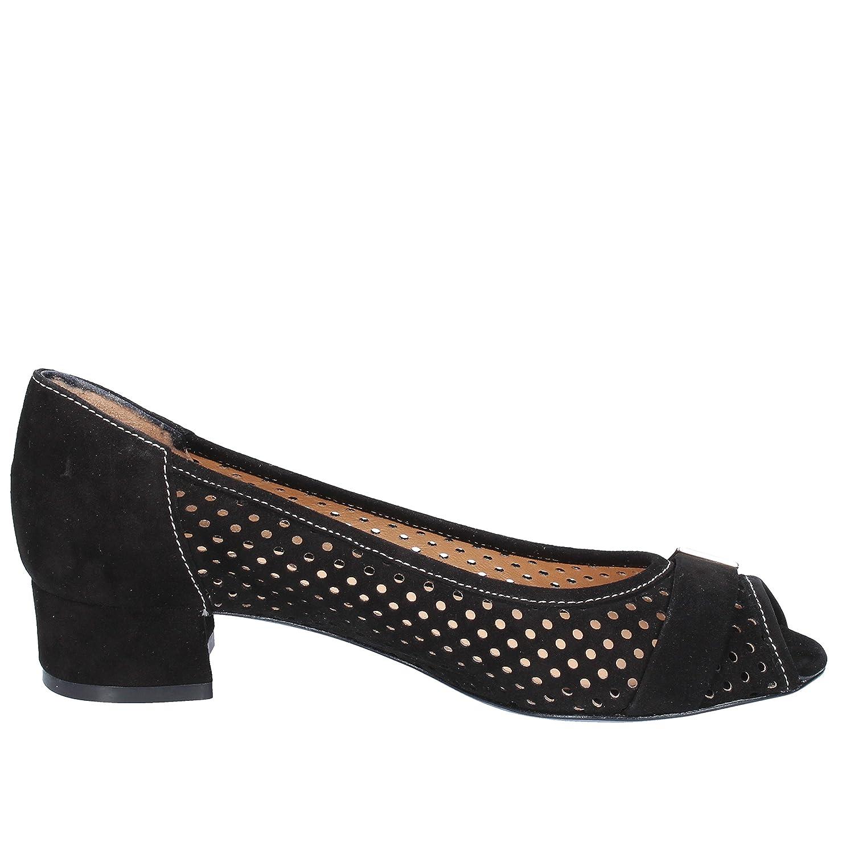 CALPIERRE Pumps-Shoes Womens Suede Black