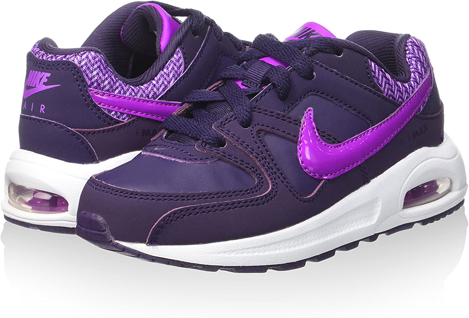 Nike 844356-551, Zapatillas de Trail Running para Niñas, Morado (Purple Dynasty/Hyper Violet-White), 28 EU: Amazon.es: Zapatos y complementos
